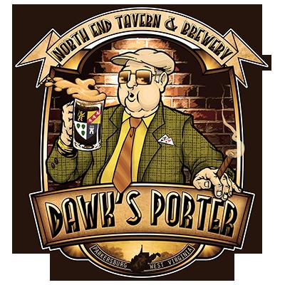 Dawk's Classic Porter label